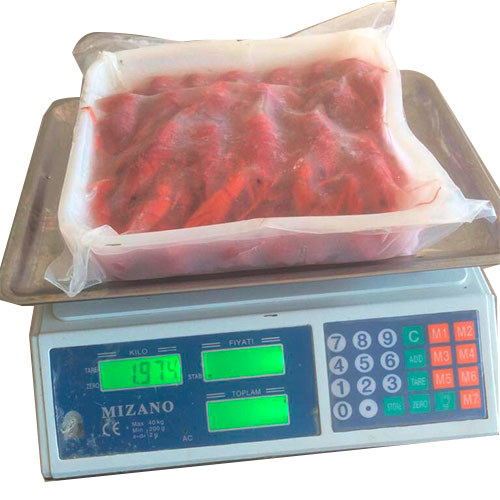Раки варено-мороженые №L<br>(вес 80-100 гр)<br>12-14см